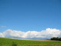 北海道で見た空