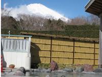 富士山が見える温泉へ