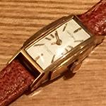 生き返った腕時計