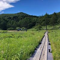 入笠山でリフレッシュ